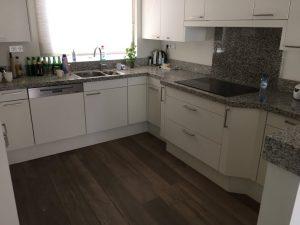 Keuken met graniet werkblad
