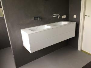 badkamermeubel van Corian