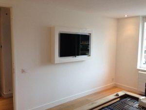 Hedendaags TV-meubel voor slaapkamer met verborgen dvd-spelerZaal Meubelfabriek WV-94